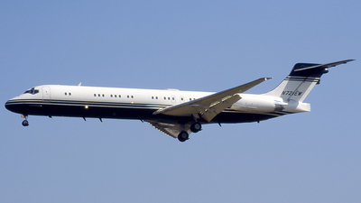 N721EW - McDonnell Douglas MD-87 - Private