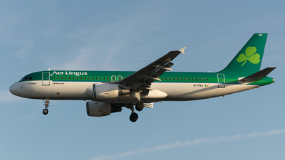 Ei Fnj Airbus A320 216 Aer Lingus Flightradar24
