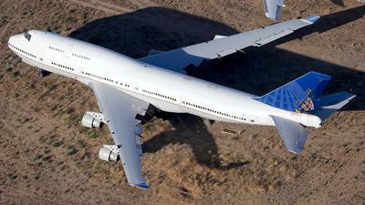 N127UA - Boeing 747-422 - Untitled