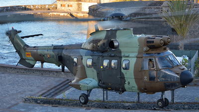 HU.21-20 - Aérospatiale AS 332B Super Puma - Spain - Army