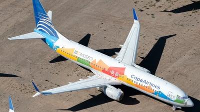 A picture of HP1825CMP - Boeing 7378V3 - Copa Airlines - © Daniel Dominguez