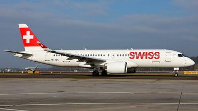 HB-JCA - Bombardier CSeries CS300 - Swiss