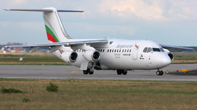 LZ-HBE - British Aerospace BAe 146-300 - Bulgaria Air