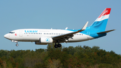 A picture of LXLGS - Boeing 7377C9 - Luxair - © Jeremy Denton