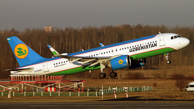 A picture of UK32022 - Airbus A320251N - Uzbekistan Airways - © Malyshev Andrei