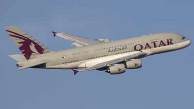 A7-APE - Airbus A380-861 - Qatar Airways