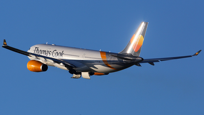 G-TCXB - Airbus A330-243 - Thomas Cook Airlines