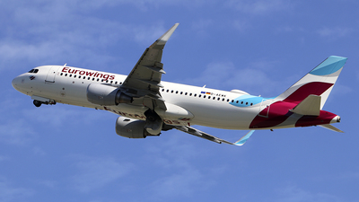 A picture of DAEWK - Airbus A320214 - Eurowings - © Johannes Reichert