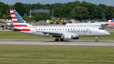 A picture of N134HQ - Embraer E175LR - American Airlines - © Yan777