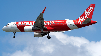 A picture of HSBBC - Airbus A320216 - AirAsia - © MHJ PHOTOS