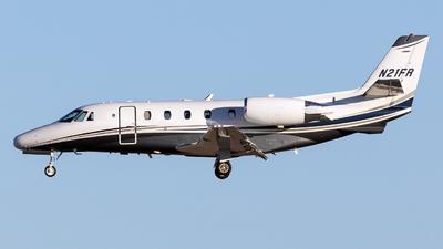 N21FR - Cessna 560XL Citation Excel - Private