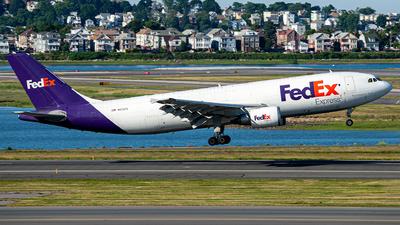 N672FE - Airbus A300F4-605R - FedEx