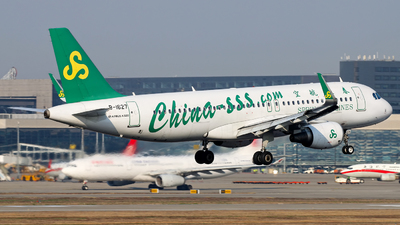 A picture of B1627 - Airbus A320214 - Spring Airlines - © Stefano R