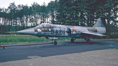 D-8338 - Lockheed F-104G Starfighter - Netherlands - Royal Air Force