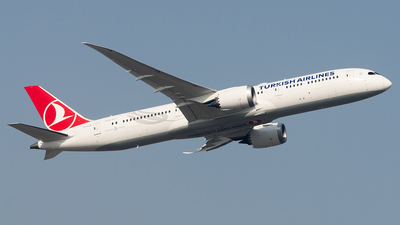 A picture of TCLLD - Boeing 7879 Dreamliner - Turkish Airlines - © Hamza A. Mughal