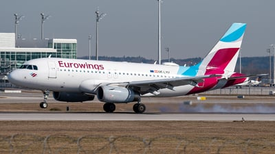 A picture of OELYU - Airbus A319132 - Eurowings - © Markus Schwab