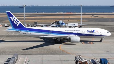 JA708A - Boeing 777-281 - All Nippon Airways (ANA)