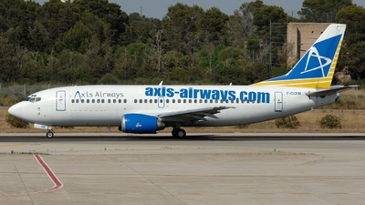F-GIXM - Boeing 737-36E(QC) - Axis Airways