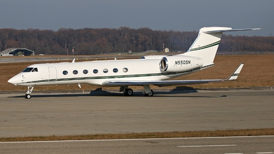 N550SN - Gulfstream G550 - Private