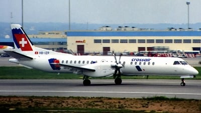 HB-IZP - Saab 2000 - Crossair