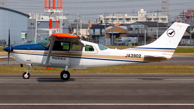JA3902 - Cessna TU206G Turbo Stationair - Nakanihon Air Service