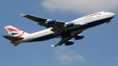 G-BNLE - Boeing 747-436 - British Airways