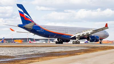 A picture of VQBPI - Airbus A330343 - Aeroflot - © Alexander Belyakov
