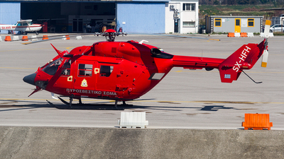 SX-HFH - MBB BK117 - Greece - Fire Fighting Service
