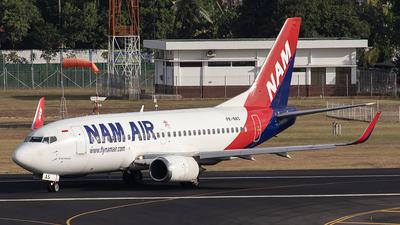 PK-NAS - Boeing 737-524 - NAM Air