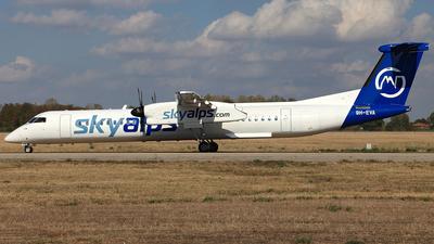 9H-EVA - Bombardier Dash 8-Q402 - Sky Alps (Luxwing)