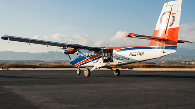 N227WW - De Havilland Canada DHC-6-100 Twin Otter - Private