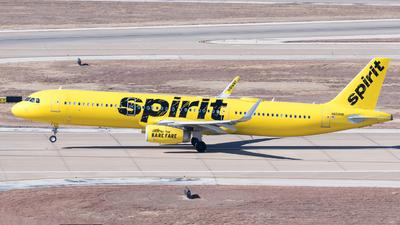 N659NK - Airbus A321-231 - Spirit Airlines