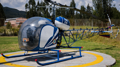 FAC206 - Bell 47G-2 - Colombia - Air Force