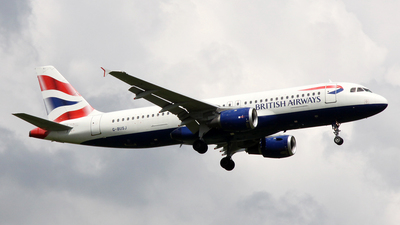 G-BUSJ - Airbus A320-211 - British Airways