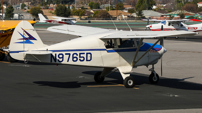 A picture of N9765D - Piper PA22150 - [226680] - © KenKen Huang