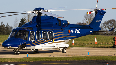 G-VINC - Agusta-Westland AW-139 - Babcock MCS Offshore