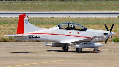 A picture of HBHHH - Pilatus PC7 Mk.II - Pilatus Flugzeugwerke - © Pampillonia Francesco - Plane Spotters Bari
