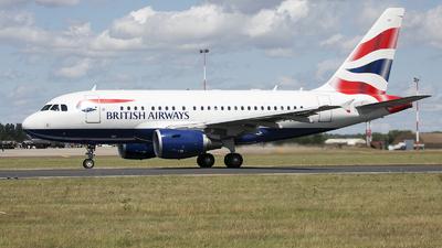 G-EUNB - Airbus A318-112 - British Airways