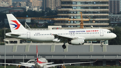 A picture of B6559 - Airbus A320232 - China Eastern Airlines - © Amber Xuan