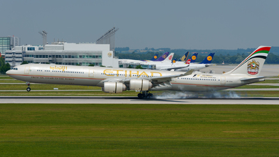 A6-EHH - Airbus A340-642 - Etihad Airways