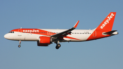 A picture of GUZHN - Airbus A320251N - easyJet - © Hawkwind