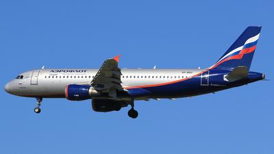 VP-BQU - Airbus A320-214 - Aeroflot