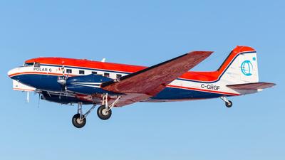 A picture of CGHGF - Douglas DC3C - Kenn Borek Air - © Brian Tattuinee