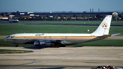 5X-UWM - Boeing 707-323C - Simba Air Cargo