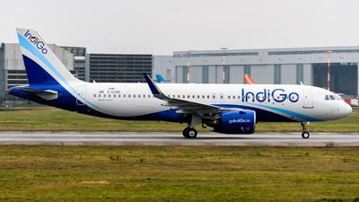 D-AUBE - Airbus A320-271N - IndiGo Airlines