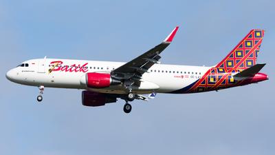 OE-LAS - Airbus A320-214 - Batik Air