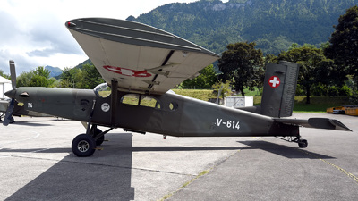 V-614 - Pilatus PC-6/B2-H2 Turbo Porter - Switzerland - Air Force