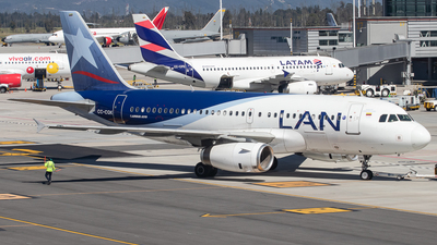 CC-CQK - Airbus A319-132 - LAN Colombia (Aires Colombia)