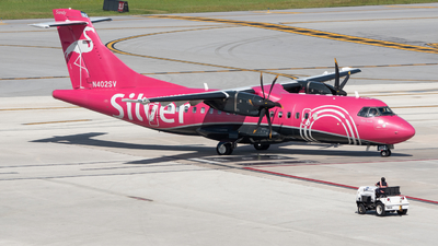 A picture of N402SV - ATR 42600 - Silver Airways - © Matthew Calise