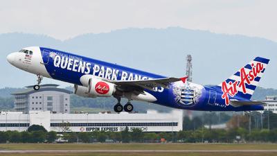 9M-AFV - Airbus A320-216 - AirAsia